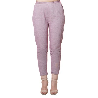 MAGENTA COTTON SAMERY PANT FOR WOMEN JAIPUR