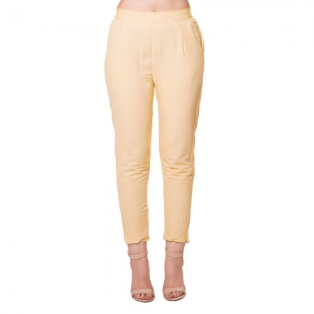 YELLOW COTTON SAMERY PANT FOR WOMEN JAIPUR