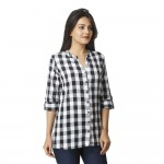 BLACK CHECK SHIRT JAIPUR