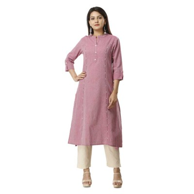 ASMANII PINK COTTON KURTA JAIPUR